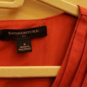 Banana Republic dress size 4 linen blend